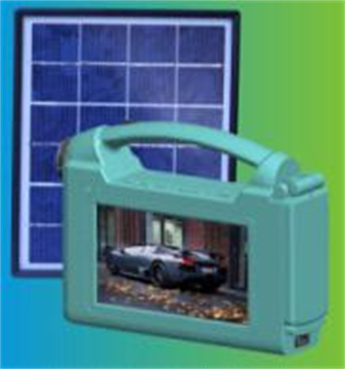 Simple and Portable Solar TV (SZYL-STV-709)