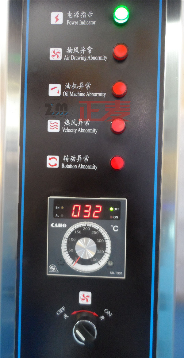 32 Trays Gas Rotary Oven (ZMZ-32M)
