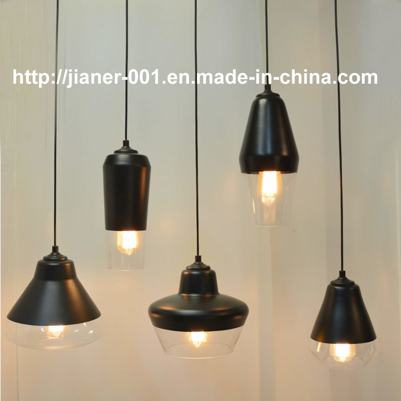 Adjustable DIY Glass Pendant Lamp for Hotel /Restaurant/ Dining Room