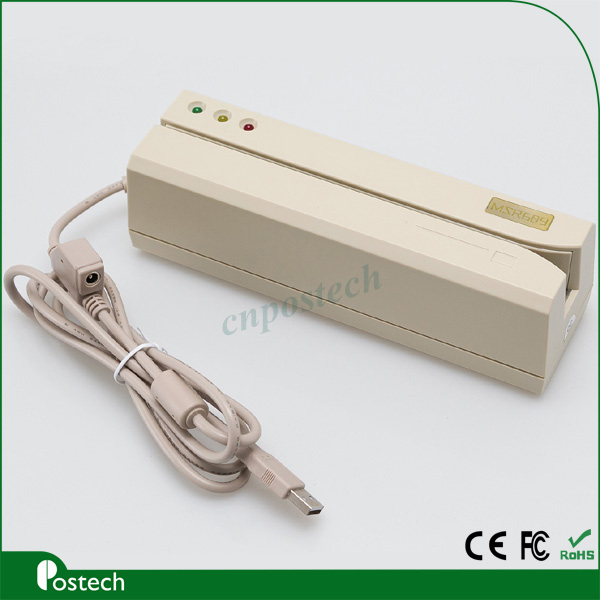 High-Speed Msr609 Magnetic Stripe Card Reader and Writer (MSR609)