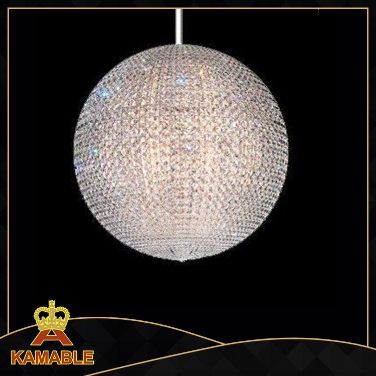Beautiful Hotel Project Crystal Ball Chandelier Lighting (KA130)