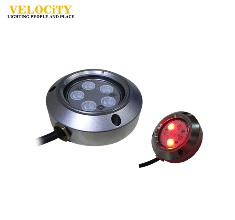 IP68 RGB Remote Control LED Marine Waterproof Underwater Boat Lights