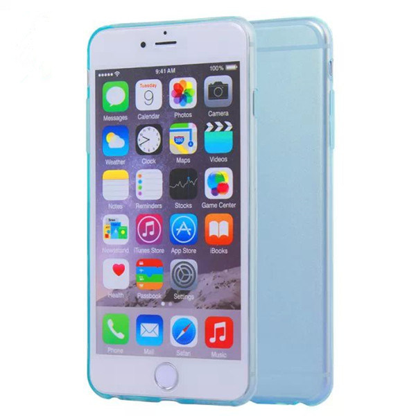 0.3mm Ultra Slim TPU Cell Phone Case for iPhone 6/6s