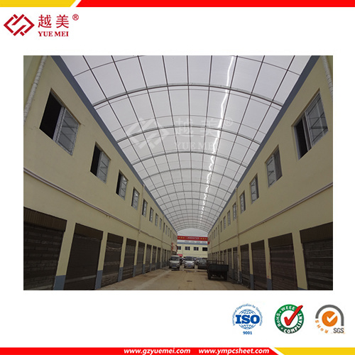 ISO SGS Approve Polycarbonate Awning, Roofing Material