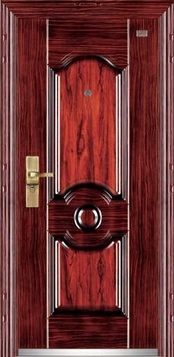 Heat Transfer Steel Security Door