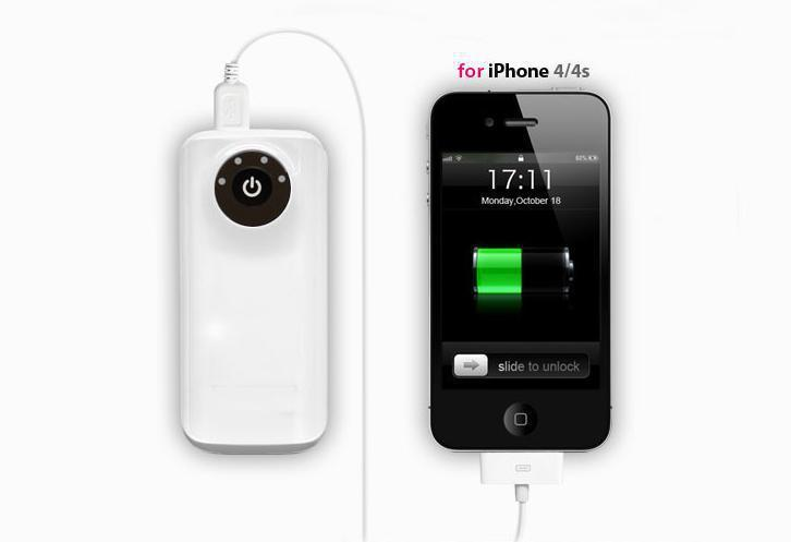OEM Factory Supply Mobile Power Bank Charger for iPhone (PB-YD02)