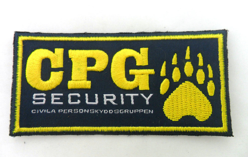 Custom Machine Woven Embroidery Badges