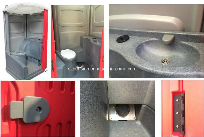 Simple Mobile Prefabricated/Prefab House Public Toliet for Hot Sale