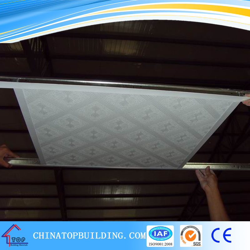 # 572. A Grade PVC Film Embossed Laminated Gypsum Ceiling Tile /PVC Gypsum Ceiling