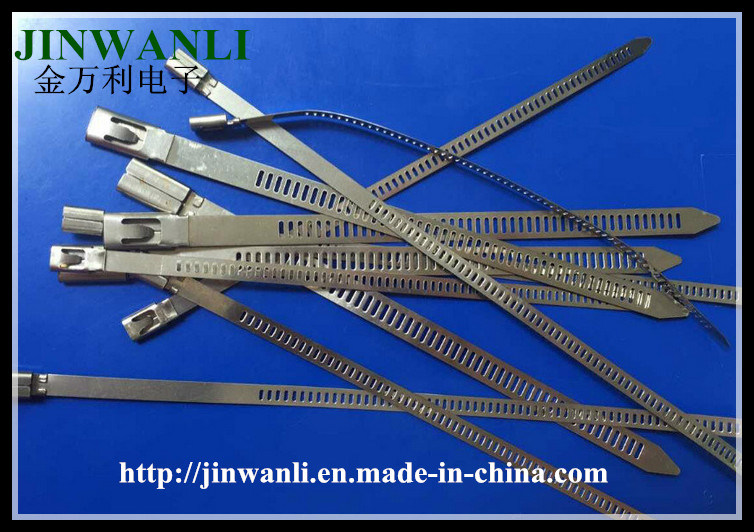 Ladder Single Barb Lock Type Stainess Steel Cable Tie
