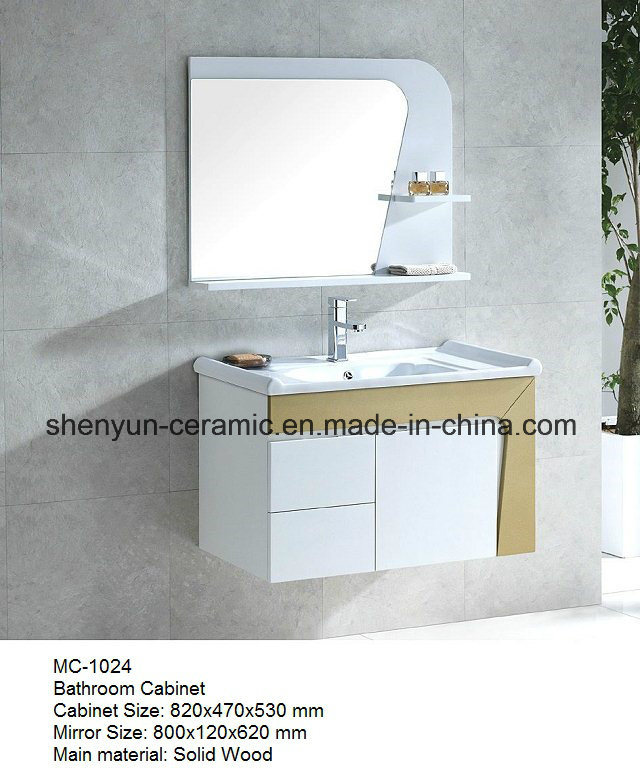 Bathroom Furniture Bathroom Cabinet with Wash Basin (MC-1024)