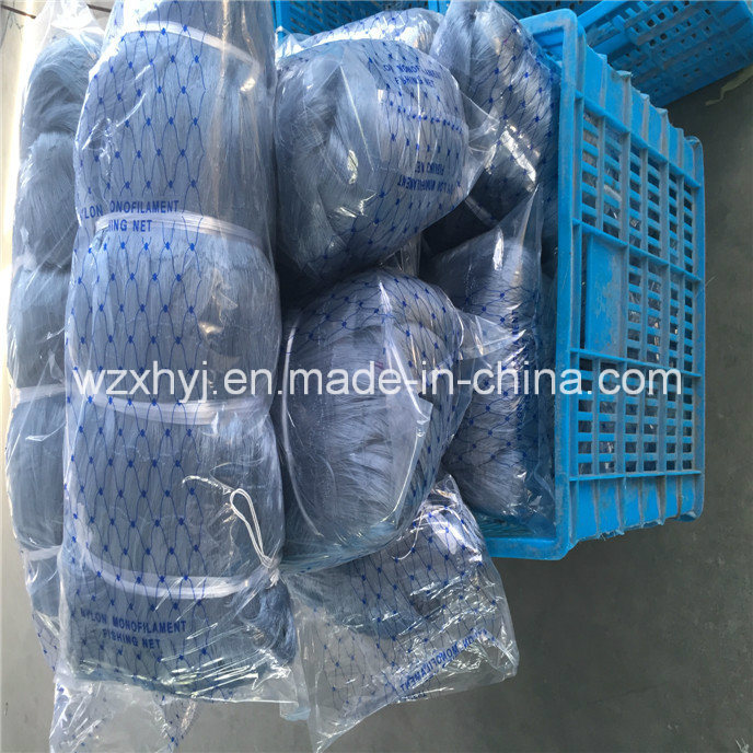 0.20mmx3 *50mmsq*150md*150m Nylon Monofilament Fishing Net