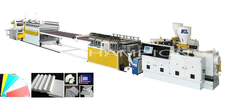 High Quality PVC Free Foam Plastic Sheet/Board Extruder (Seluka Process)