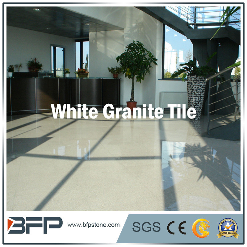 White Granite Tile Flooring Tile Design Ideas