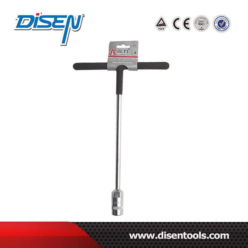 6-19mm Chrome Vanadium T-Type Satin Socket Wrench