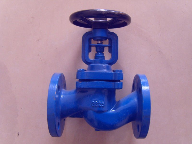 DIN Bellows Seal Globe Valve for Gear (J541H)