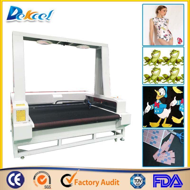 Printed Textile Fabric CCD Cutting Machine (Laser Cutting Machine)