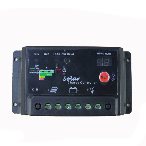 Solar Controller with PWM Function for Solar Power System