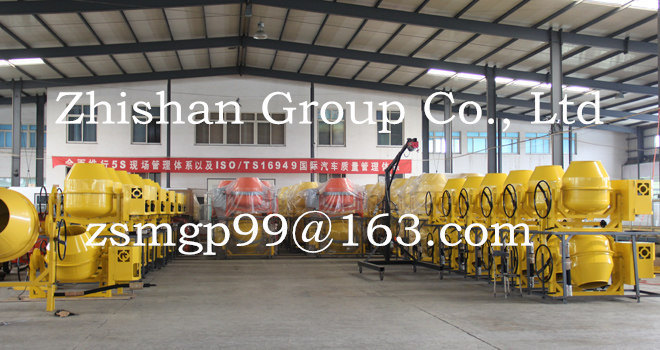 Zhishan Cm500 (CM50-CM800) Portable Electric Gasoline Diesel Concrete Mixer