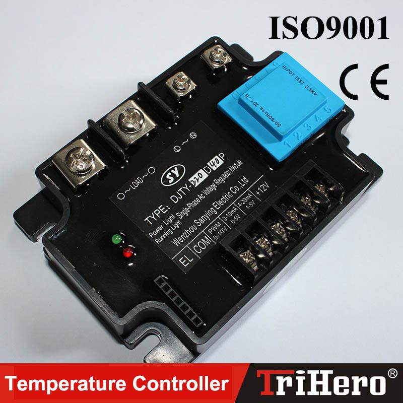 Single Phase All Isolation AC Voltage Regulating Module SSR 4-20mA 0-10V, Voltage Control, Single Phase SCR Power Regulator