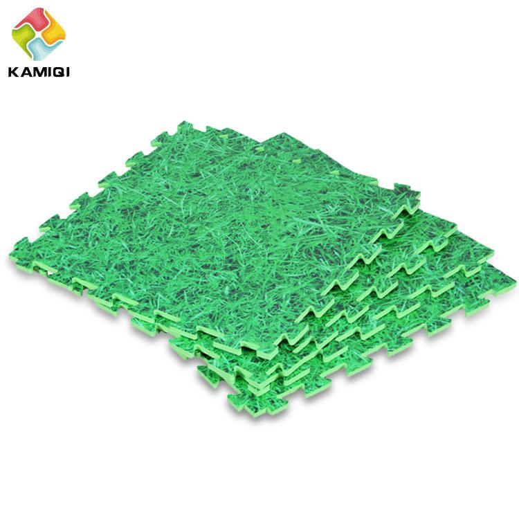 The Grass and Ocean EVA Foam Floor Interlocking Mat