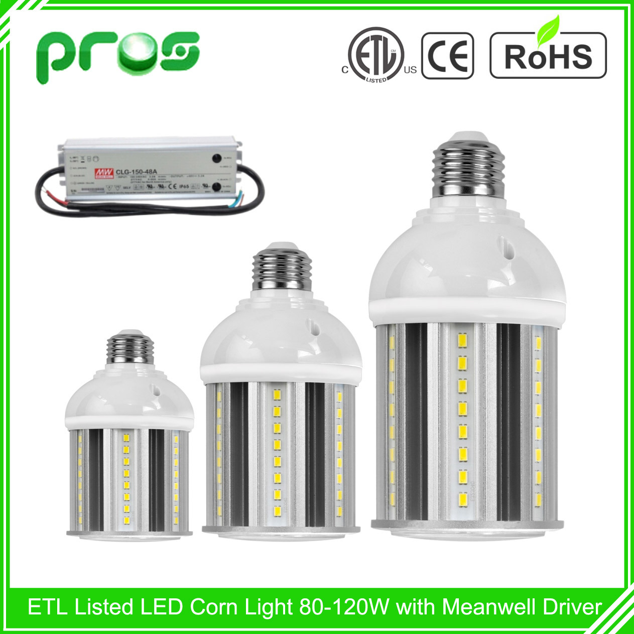 Dlc ETL LED Corn Light, LED Billboard Light Fitting