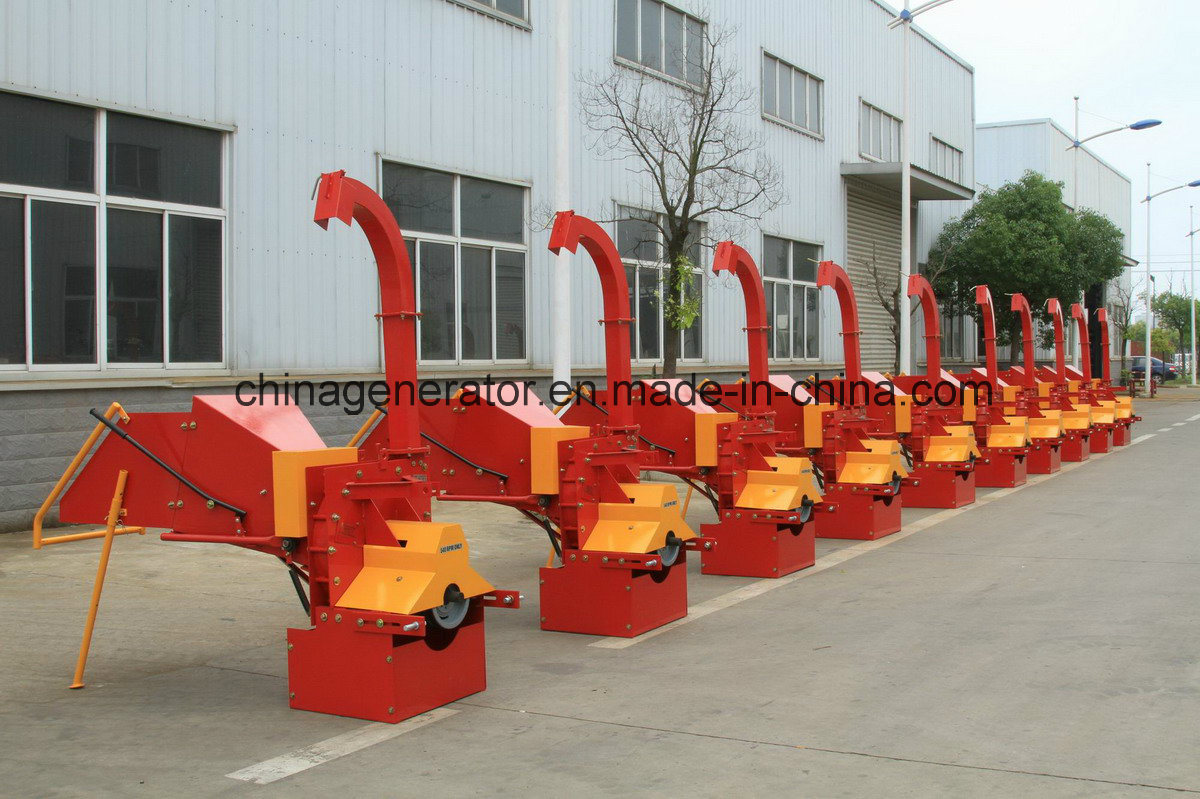 Wc-6 Tractor Pto Wood Chipper Shredder with Ce Approval