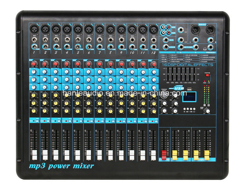 Hot Sale Mixer /New Model/Power Mixer / Digital Effect Mixer/ Mixing Console/XL-12