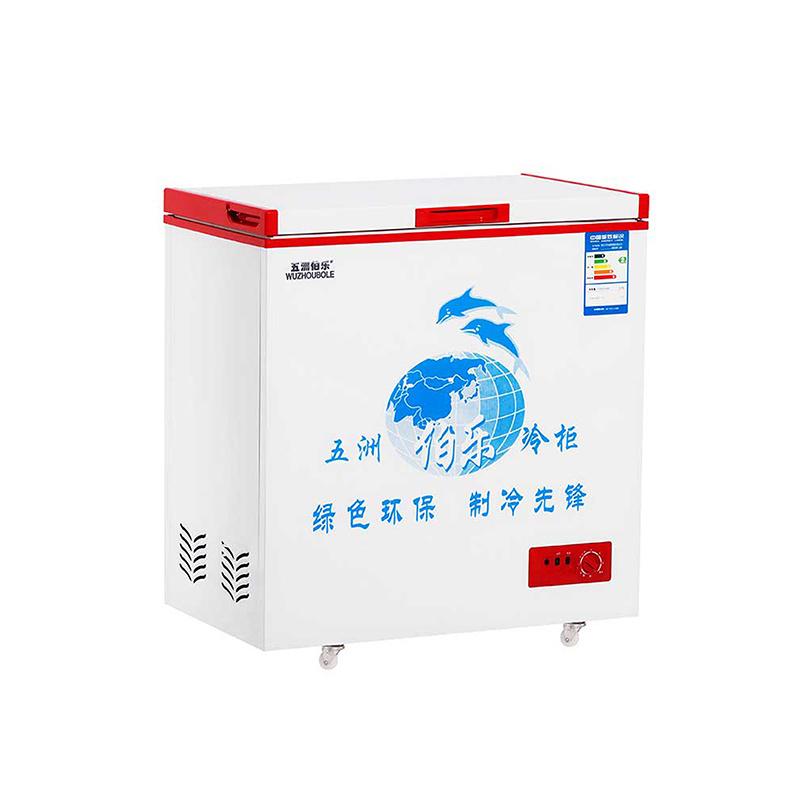 142L Single Temperature Top Open Single Door Chest Freezer