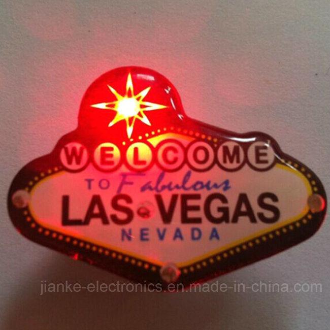 Las Vegas LED Blinking Magnet (3161)