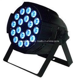 LED PAR64 18X15W RGBWA+UV 6 In1 Zoom PAR Can Wash Light