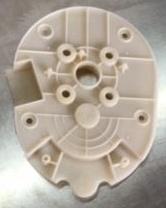 Plastic Base of Four Shaft Gear Box