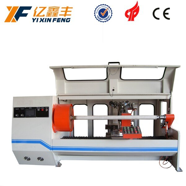 China Adhesive Tape Paper Core Cutting Machine