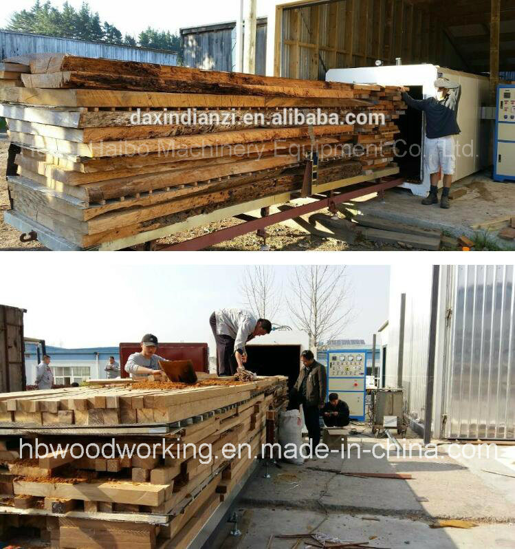 Dx-4.0III-Dx High Frequency Vacuum Lumber/Timber/Wood Kiln Dryer Machine