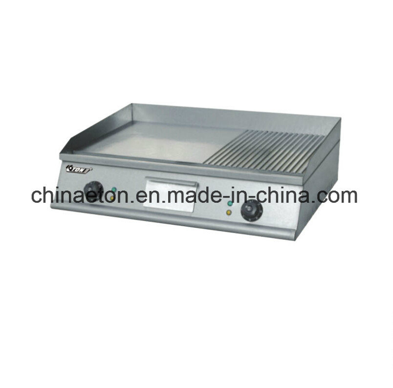Flat Plate Counter Top Gas Griddle for Et-PLC-718