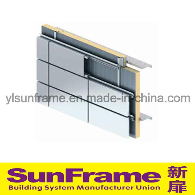 Aluminium Composite Panel in Unitized Curtain Wall