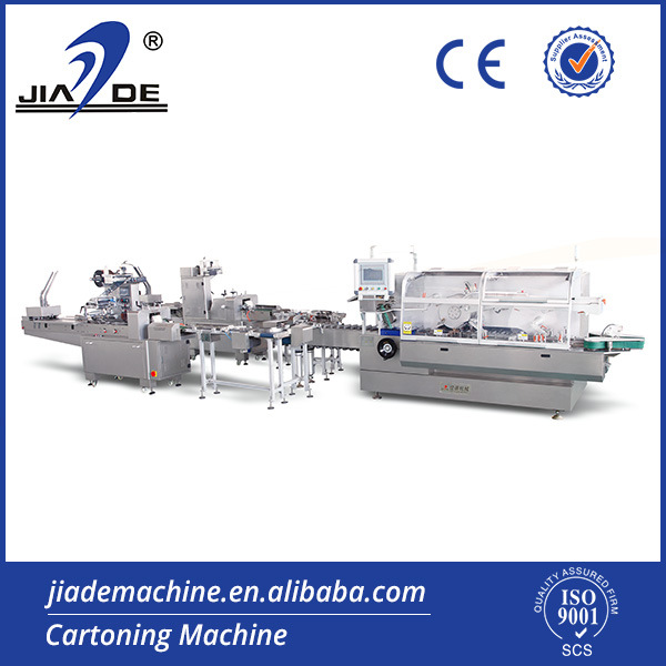 Automatic Food Flow Packing-Cartoning Machine Production Line.