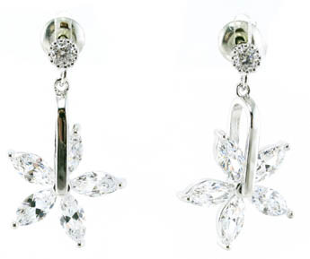 High Quality and Fashion Cheap Simple 925 Silver Earrings E6711