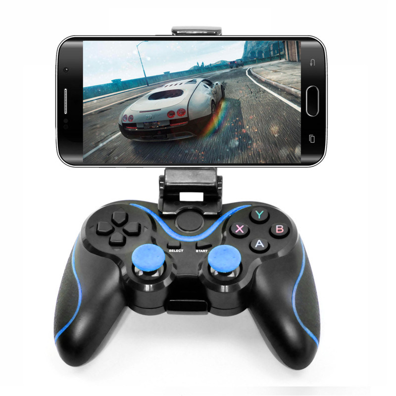 Black ABS Bluetooth Game Controller