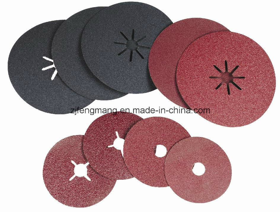 0.8/0.6mm Fiber Paper Aluminum Oxide/Silicon Carbide Fiber Disc Kf807