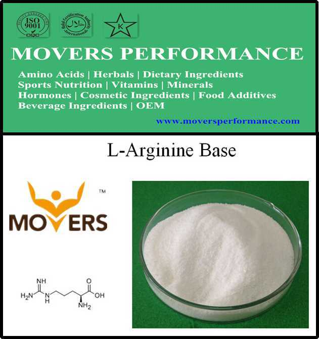 Factory Supply Food Grade Amino Acids L-Arginine Base