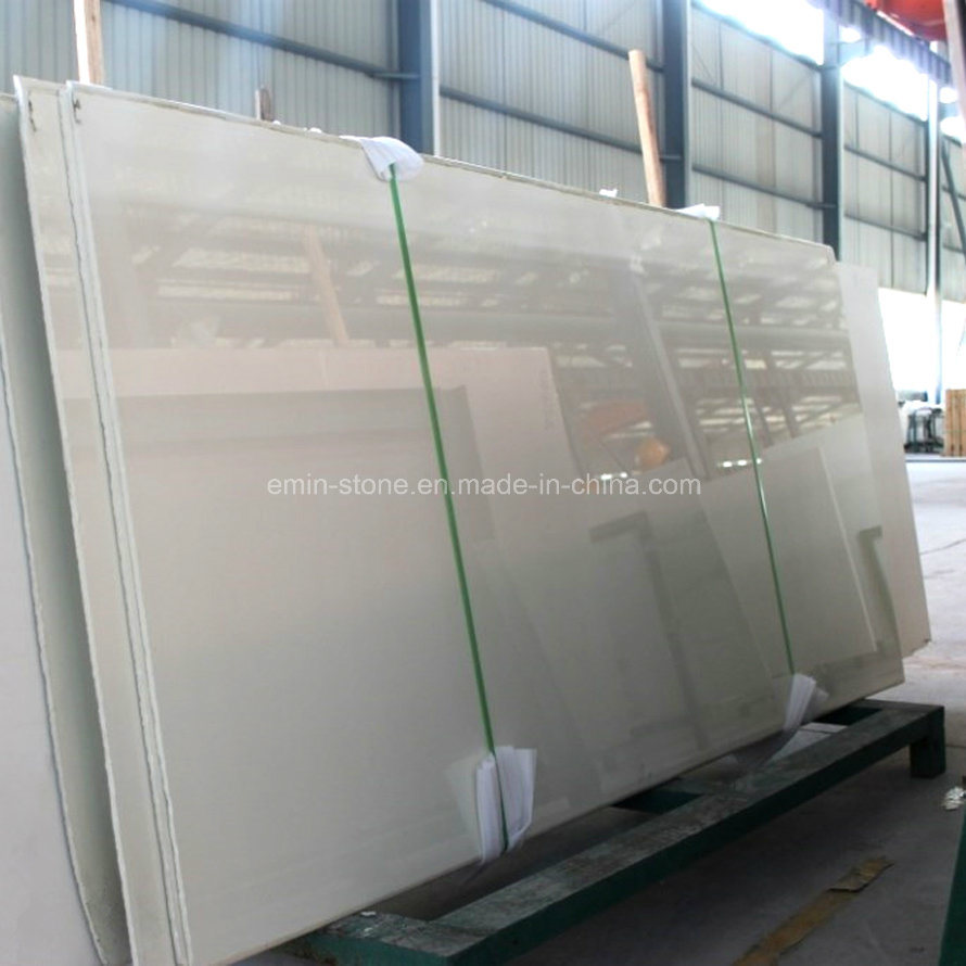 Large Slab of Nano Glass for Floor Tile, Building Material, Different with Ceramic