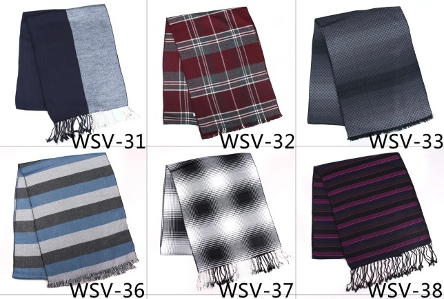 New Design Men′s Fasion Viscose Scarf (Wsv-23)