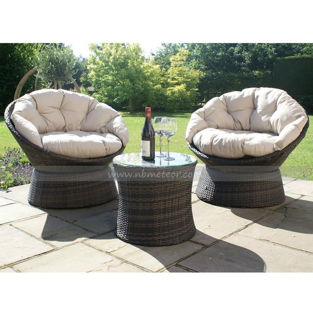 Mtc-228 Garden Furniture Outdoor Rattan Coffee Table Set