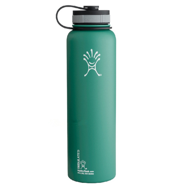 40oz Hydro Flask Double Wall Insulated Bottle Straw Lid
