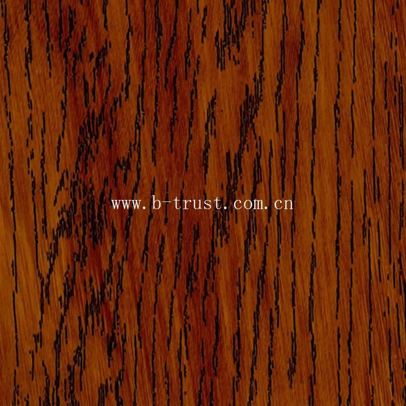 Wood Grain PVC Decorative Film/Foil/Membrane for Vacuum Press Dfh723