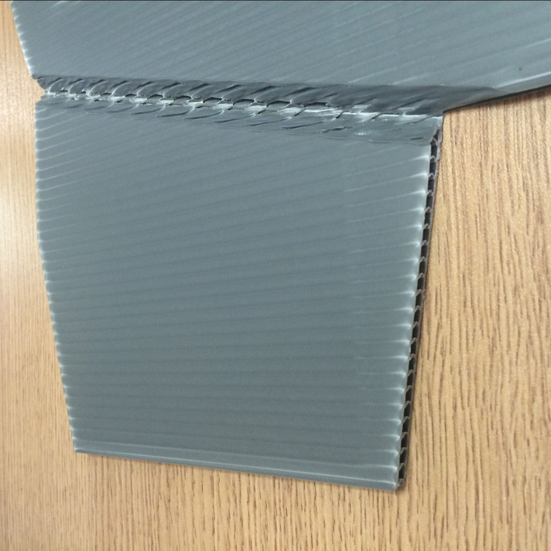Roll-up PP Corrugated Sheet