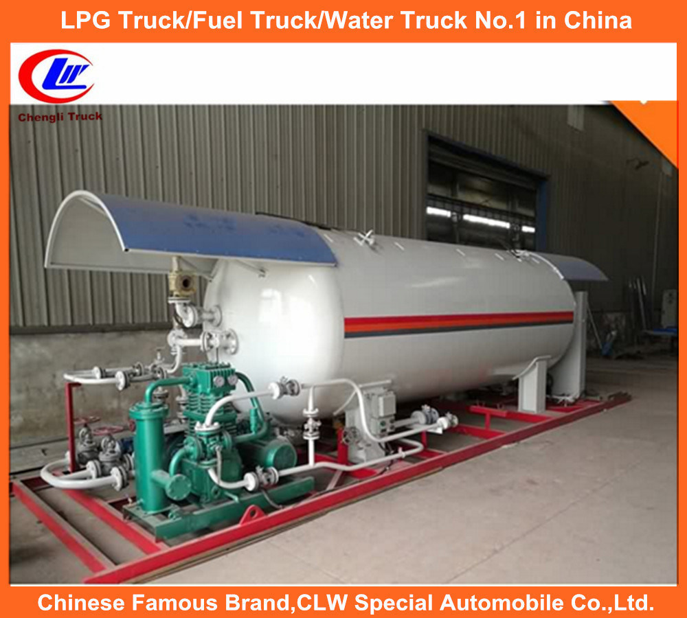 10ton Autogas Station for ASME 5tone LPG Filling Plant