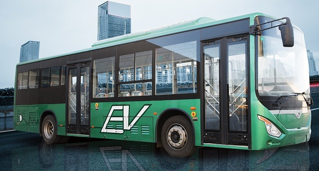 Changan Full Electric Bus 10.5m City Bus 30-40 Seats Price of New Bus