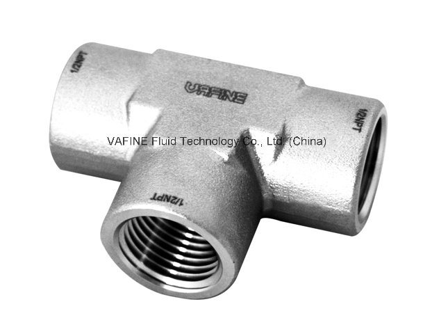 Stainless Steel Male/Female Thread Tee Pipe Fittings